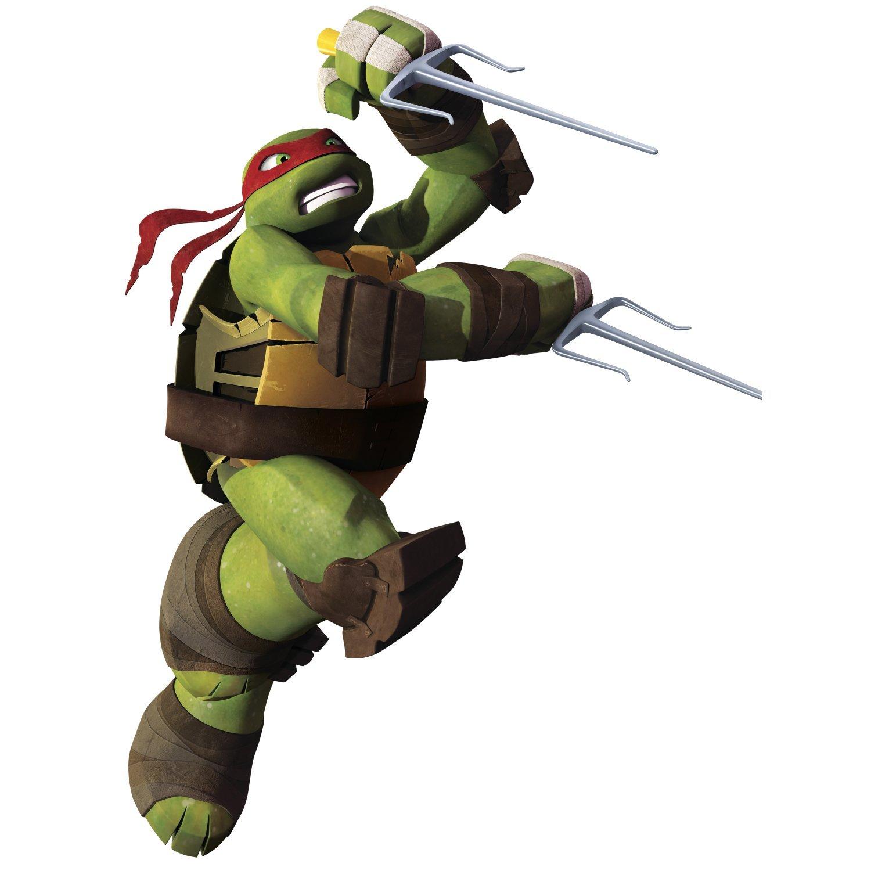 RoomMates Teenage Mutant Ninja Turtles Ralph Peel and Stick Giant Wall Decals