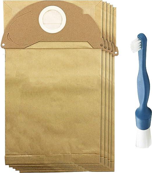 Spares2go - 10 bolsas de polvo + cepillo de limpieza para ...