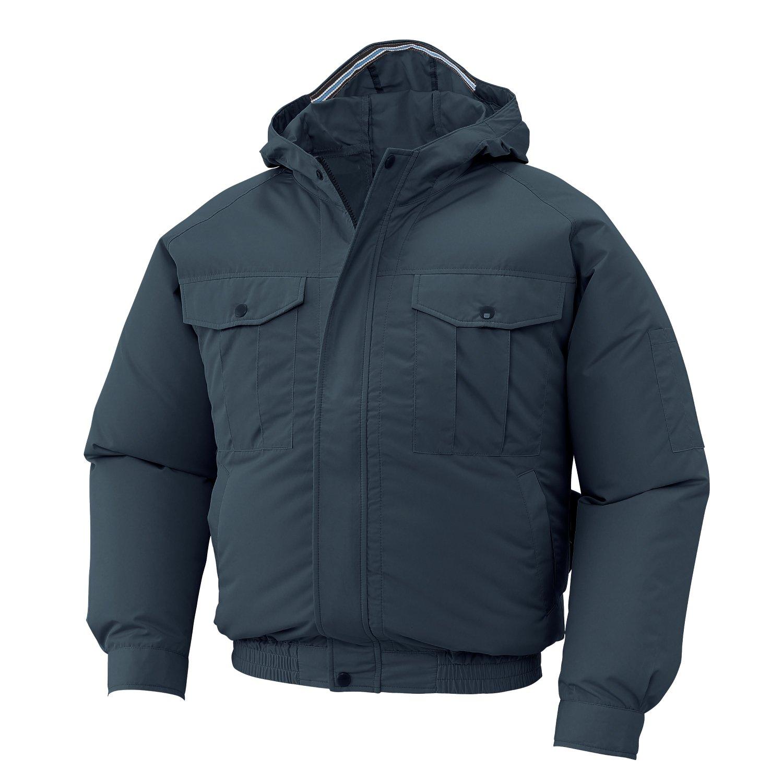 空調服 服のみ フード付き長袖ブルゾン サンエス 空調風神服 KU90810 B01GJ7O35U 69(チャコール) XL