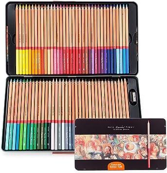 Castle Art Supplies 72 Watercolor Pencils Set For Adults And Professionals Pre