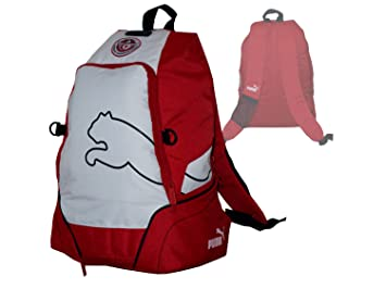 Puma v5.06 Backpack Mochila Túnez Fan de Fútbol Funda Rojo Color Blanco: Amazon.es: Deportes y aire libre