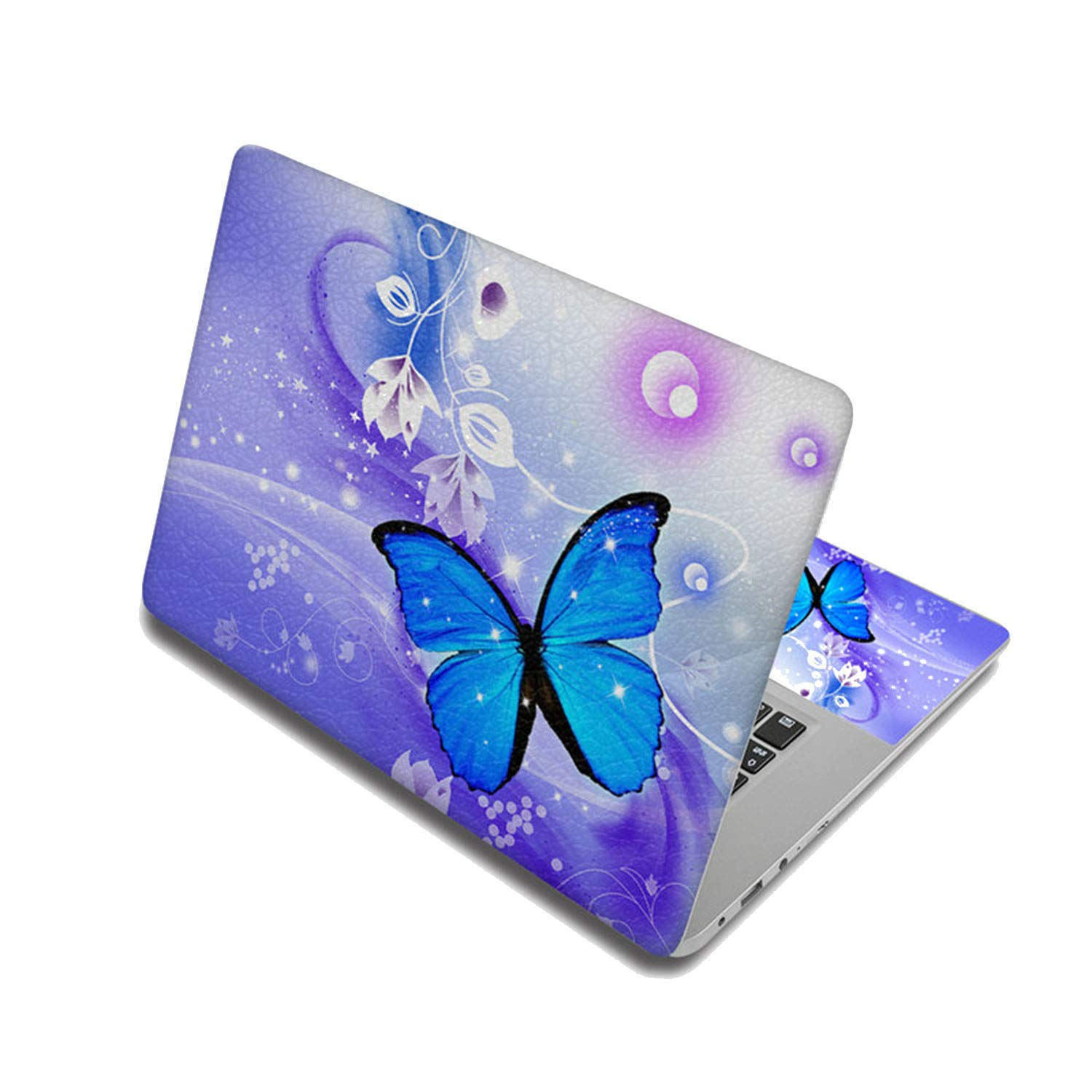 Butterfly Stickers Laptop Skin Decals Computer Sticker For Lenovo/Hp/Macbook Air/Dell,15 Inch,Laptop Skin 3