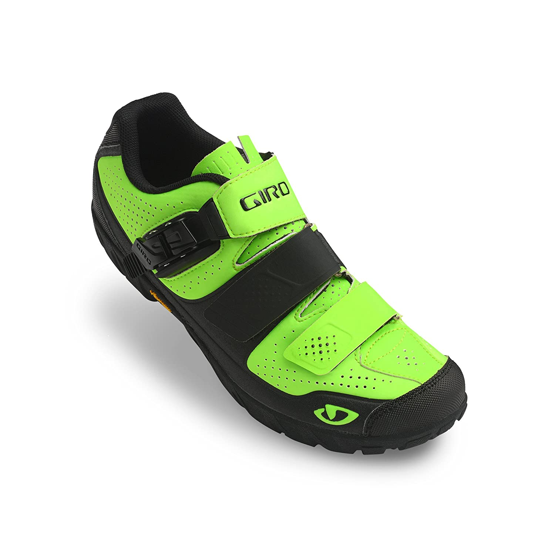 Giro Herren Terraduro MTB Radsportschuhe-Mountainbike, Mehrfarbig (Lime schwarz 000), 44.5 EU