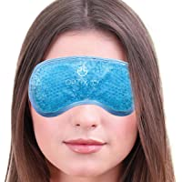 Gel Eye Mask - Hot or Cold Compress Pack Eye Therapy | Cooling Eye Mask for Dark Circles & Puffiness, Puffy Eyes, Dry…