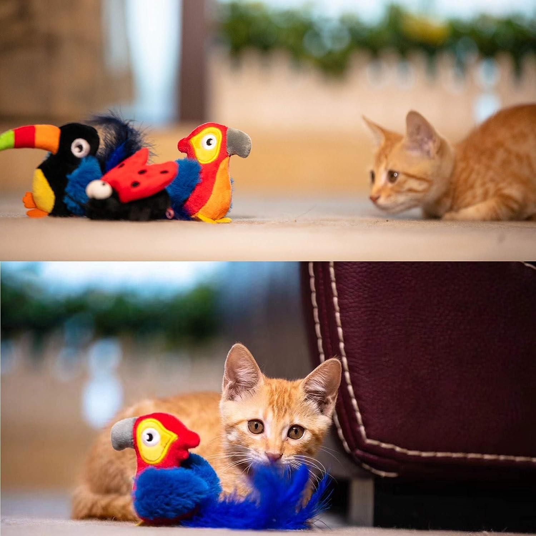 Erizo Vealind GiGwi Melody Chaser Juguete Interactivo de Felpa para Perros y Gatos