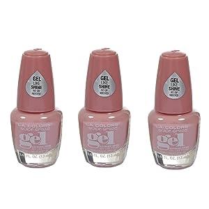 L.A. Colors Extreme Shine Gel Nail Polish CNP703 Mademoiselle 3 pcs