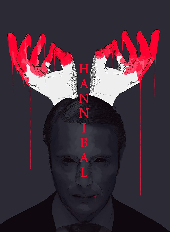 Amazon Com Hannibal Movie Poster Wall Art Gift Decor Handmade