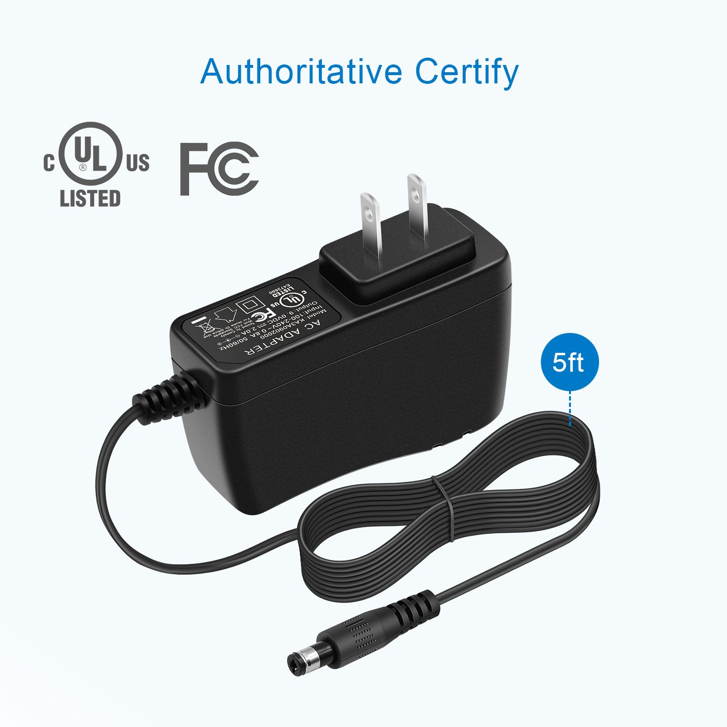 9V AC Adapter Power Cord For Leapfrog Leapster L-max Tv Didj