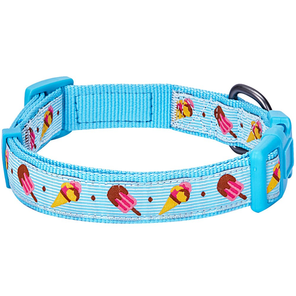 Home collars blueberry pet dog collar nautical flags inspired - Amazon Com Blueberry Pet 8 Patterns Summer Party Ideas Ice Cream Refreshing Moment Designer Dog Collar Small Neck 12 16 Adjustable Collars For Dogs