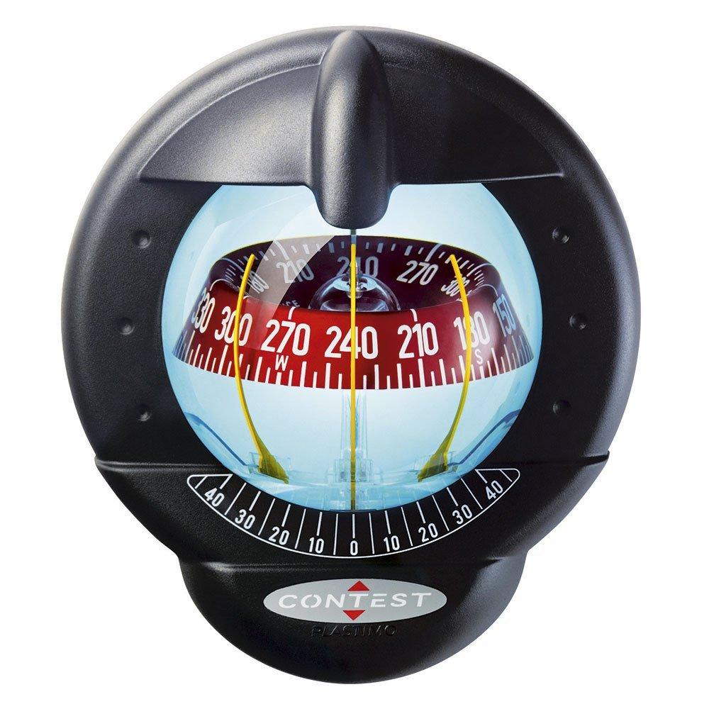 Compas Contest 101 Mamparo Vertical Plastimo Compas negro, rosa negra
