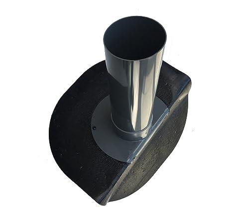 Flachdachablauf Dachgully Flachdach PVC-Dachablauf Dachentwässerung