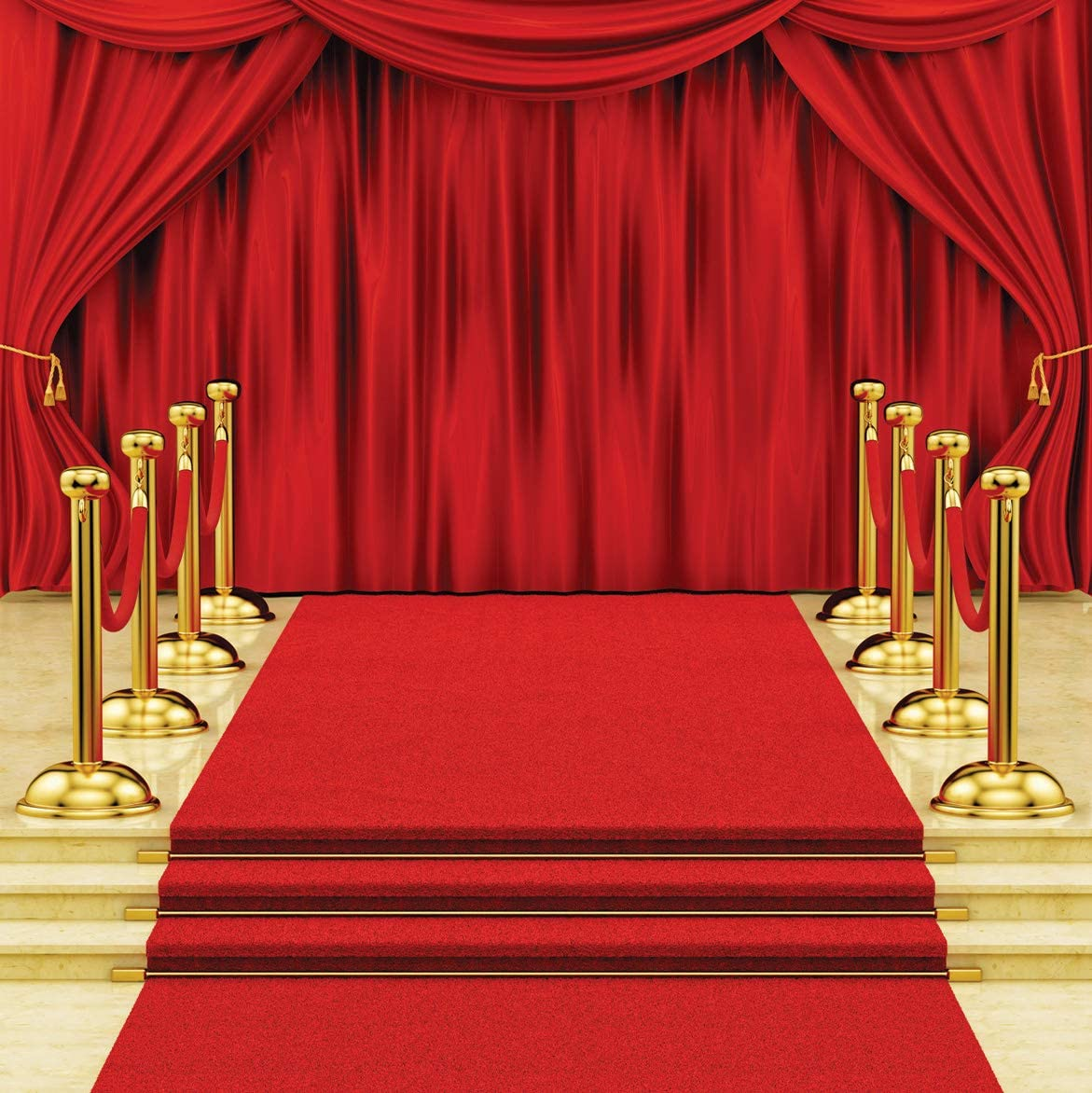 Amazon Com Sjoloon 10x10ft Red Carpet Photography Backdrop Red Curtain Background Hollywood Star Red Carpet Photo Background Vinyl Studio Props 11411 Camera Photo