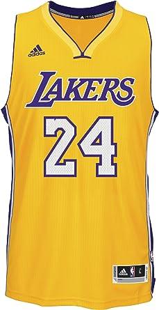 adidas Basketball Los Angeles Lakers Swingman Trikot Camiseta, Hombre: Amazon.es: Zapatos y complementos