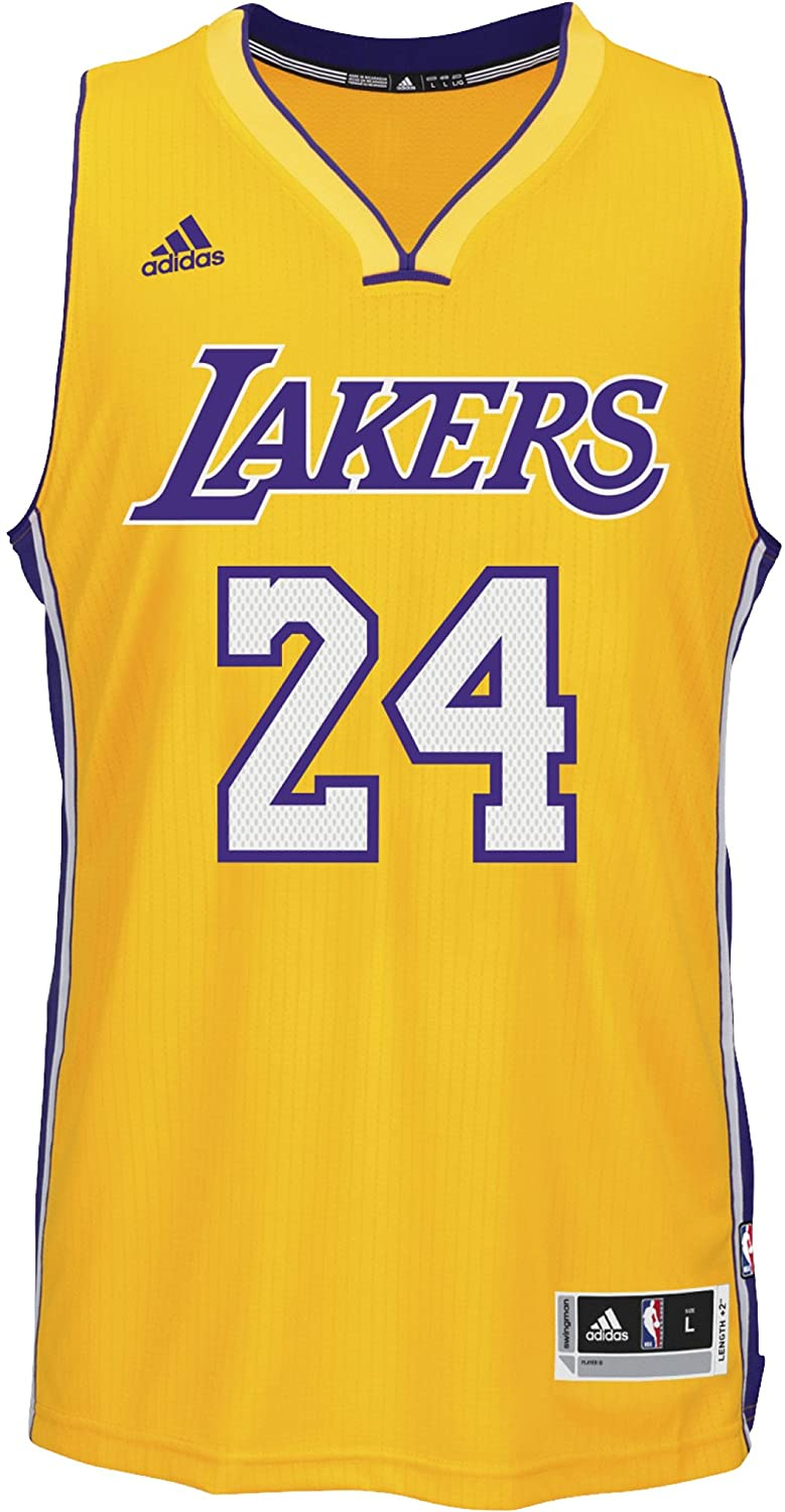 Adidas Los Angeles Lakers NBA Swingman Trikot, Camiseta para Hombre, (Amarillo/Morado/Blanco), 4XL: Amazon.es: Deportes y aire libre
