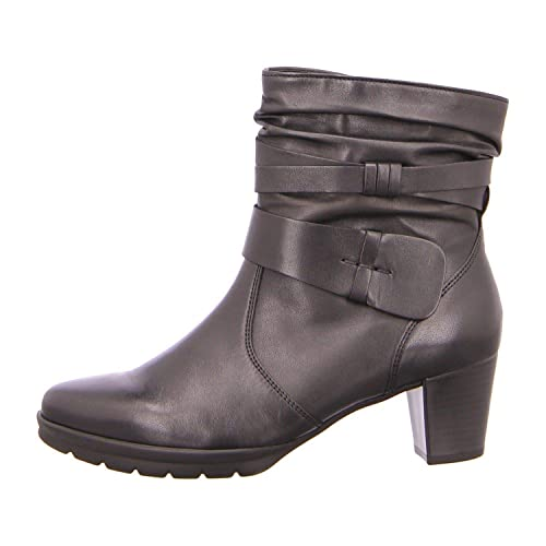free delivery reasonable price good selling Obuwie damskie Gabor Capri Womens Chunky Buckle Detail Ankle Boots ...