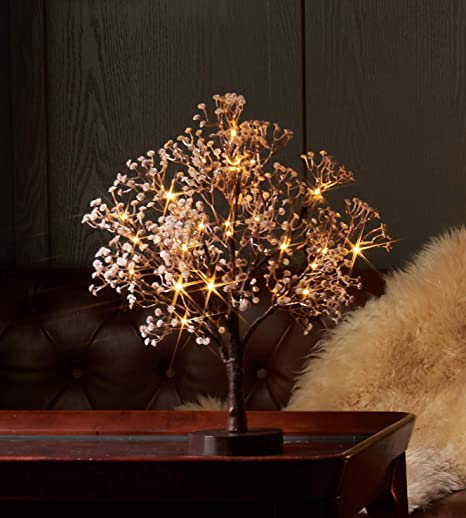 4 FT ARTIFICIAL LED MAGNOLIA BLOSSOM TREE BRAND NEW IN HAND TO SHIP
