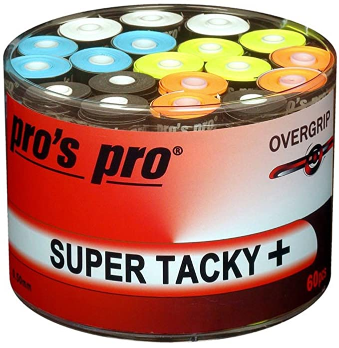 60 Overgrip Super Tacky Tape blanco tennis grips Cinta para mango ...