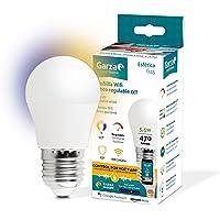Garza ® Smarthome - Bombilla LED Esférica Intelegente Wifi E27, luz blanca neutra regulable con cambio de intensidad y…