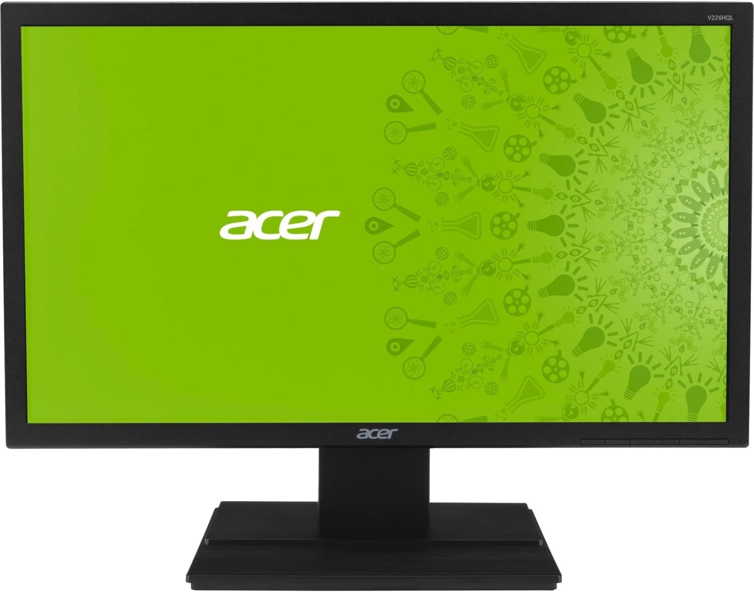 "Acer V226HQL 21.5"" Full HD Widescreen LED Monitor - 16:9 - 5 ms - 1920 x 1080 - 200 Nit - DVI - VGA - Black UM.WV6AA.B01 (AcerUM.WV6AA.B01 )"