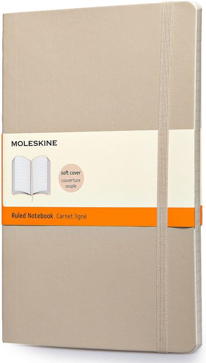 Moleskine Classic - Cuaderno de tapa blanda, color beige caqui ...