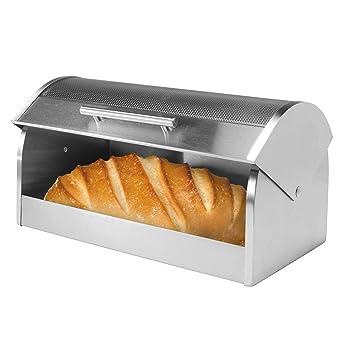 Oggi Glass Lid Bread Box