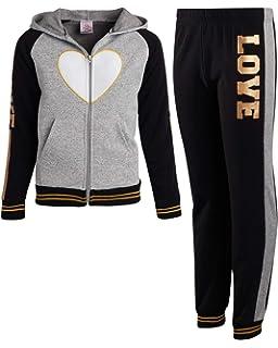 Real Love Girls 2-Piece Heavyweight Fleece Jogger Set