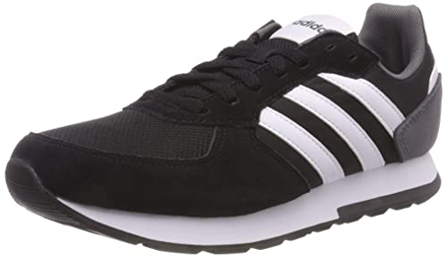 adidas 8K, Zapatillas de Running para Hombre, Negro Core Black/FTWR White/Grey Five, 44 2/3 EU: Amazon.es: Zapatos y complementos