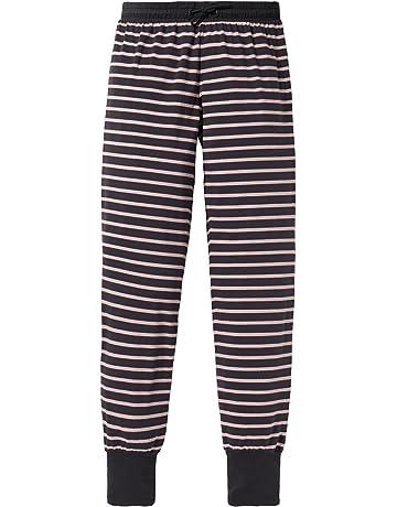 aa5c9d298 Schiesser Mix & Relax Jerseypants, Pantalones de Pijama para Niñas