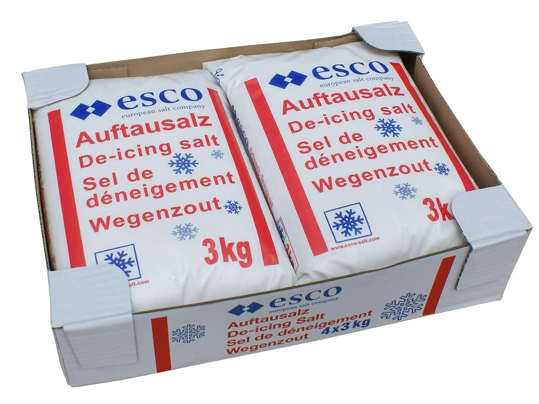 Esco Streusalz Auftausalz (8 x 3 kg)
