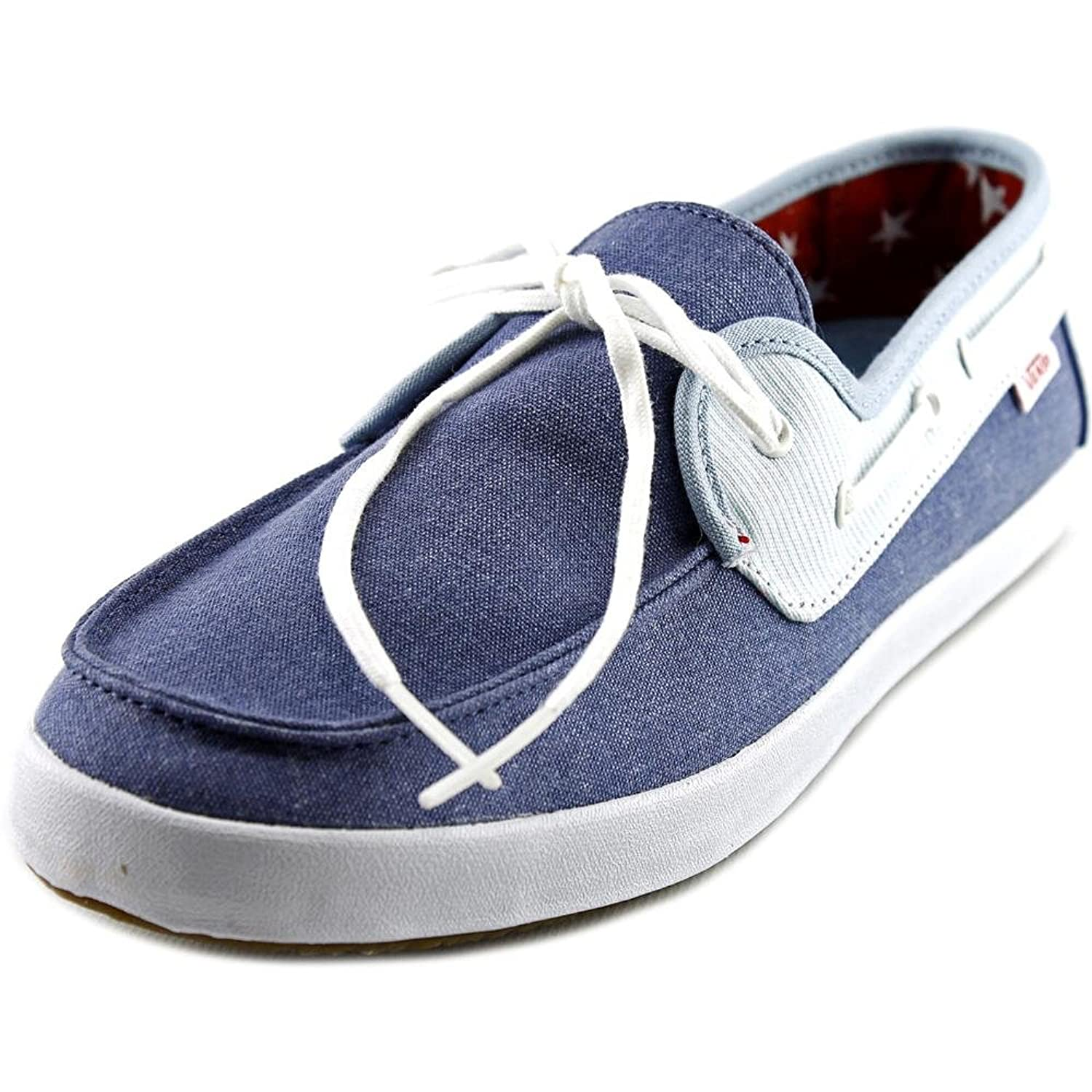 Vans Chauffette Round Toe Canvas Loafer