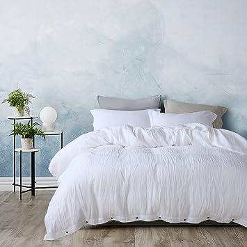 3 Pieces /Lot Linen Duvet Cover Set Linen Bedding Sets 100% Pure French  Linen