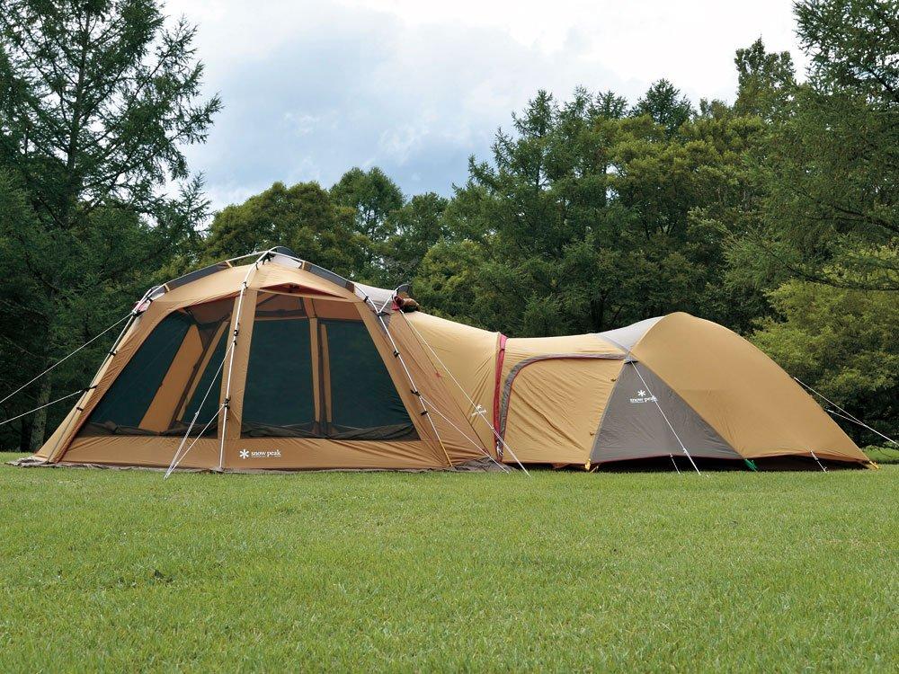 テントでのキャンプのイメージ