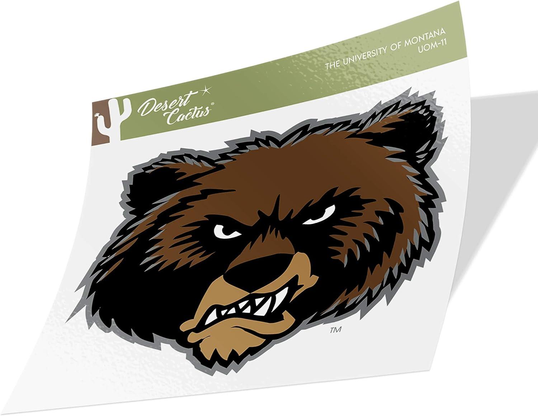The University of Montana Grizzlies Lady Griz NCAA Vinyl Decal Laptop Water Bottle Car Scrapbook Sticker - 11