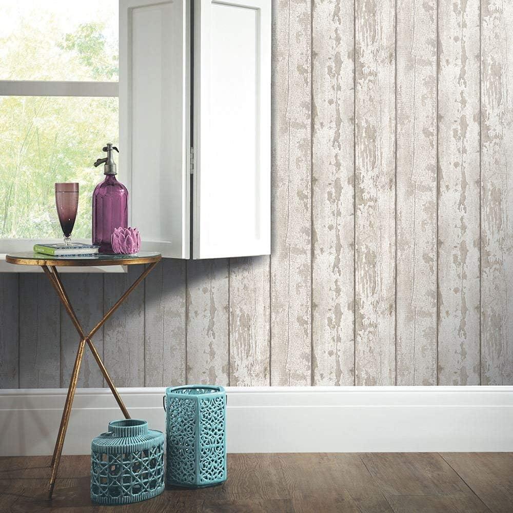 Arthouse 694701 Grey Washed Wood Papier peint