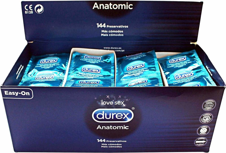 DUREX ANATOMIC 144 UDS: Amazon.es: Salud y cuidado personal