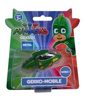 PJ Masks Gekko Die Cast Vehículo - Serie 1 Gekko-Mobile