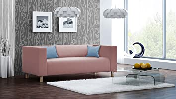 lifestyle4living Sofa, Couch, 2-Sitzer, Polstersofa, Webstoff ...