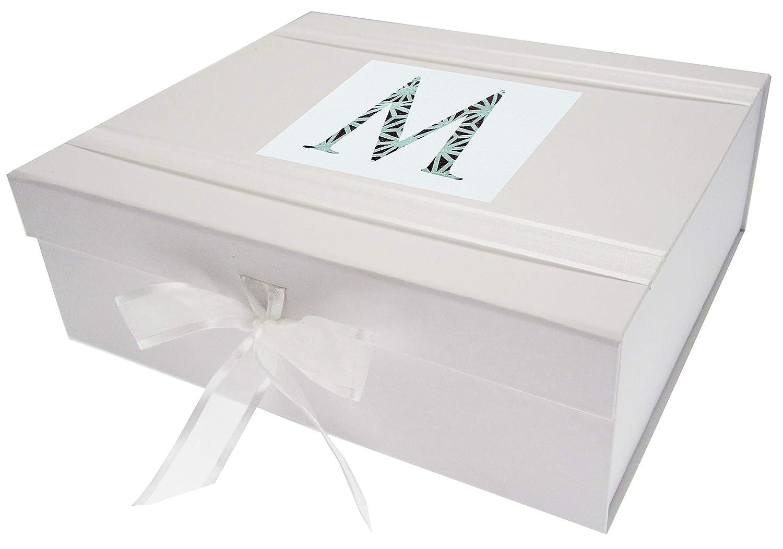 WHITE COTTON CARDS Alphabetics Iniziale m Scatola dei ricordi, Grande White Cotton Cards Ltd AZ-MX