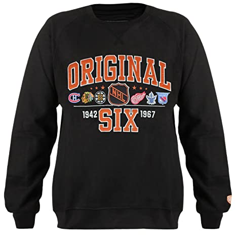 a491d47ca38 Old Time Hockey NHL Original Six Men's Daxton Original 6 Crew Tee ...