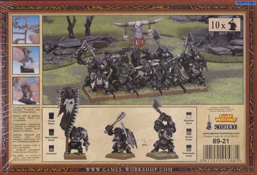 Warhammer 89-21N. Regimiento Orcos Negros: Amazon.es: Juguetes y juegos