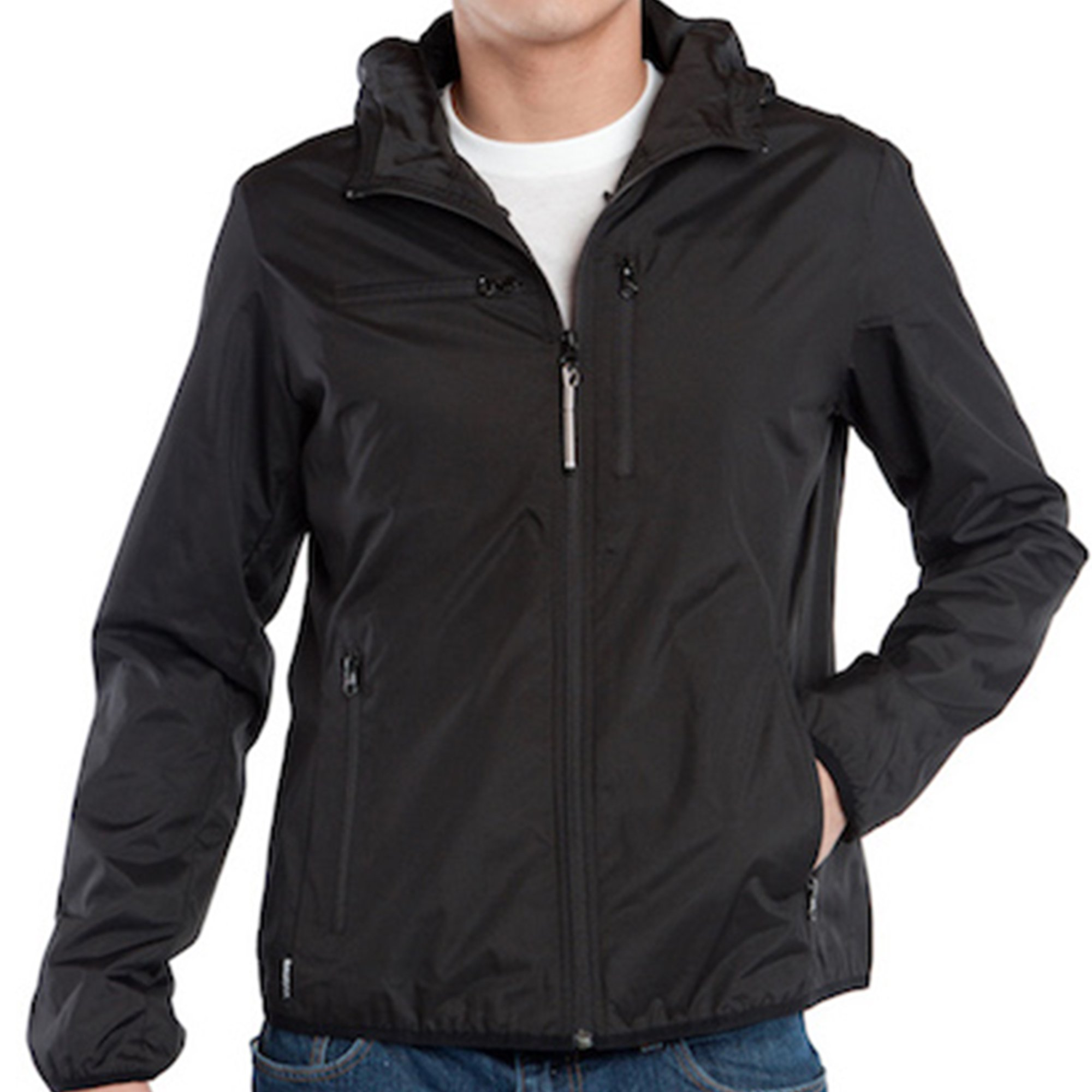 Baubax Travel Jacket - Windbreaker - Male - Black - Small