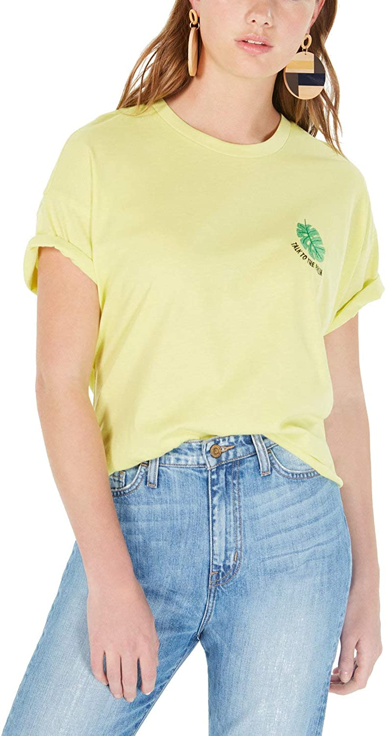 Rebellious One Juniors Talk To The Palm Graphic T Shirt At Amazon Women S Clothing Store
