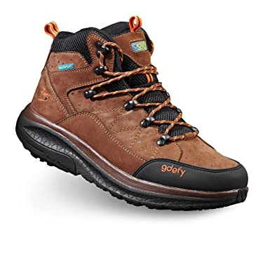 Men's G-Defy Trail Lane Mid Cut Clinically Proven Pain Relief Hiking Boots With Ankle Support