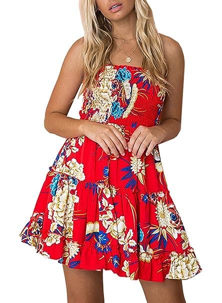 bdbe61f4ea Women s Dresses Summer Floral Crop Top Maxi Skirt Set 2 Piece Outfit Dress  (Z-