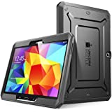 Samsung Galaxy Tab 4 10.1 Case, SUPCASE [Heavy Duty] Case for Galaxy Tab 4 10.1 Tablet [Unicorn Beetle PRO Series] Full-body Rugged Hybrid Protective Cover with Built-in Screen Protector (Black/Black), Dual Layer Design + Impact Resistant Bumper