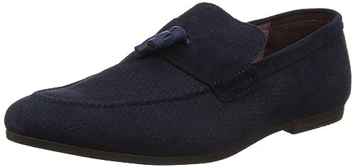 Burton Menswear London TELEK, Mocasines para Hombre, Azul (Navy 100), 42 EU: Amazon.es: Zapatos y complementos