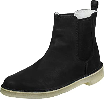 Clarks Desert Peak W Stiefel black leather 2LACq4