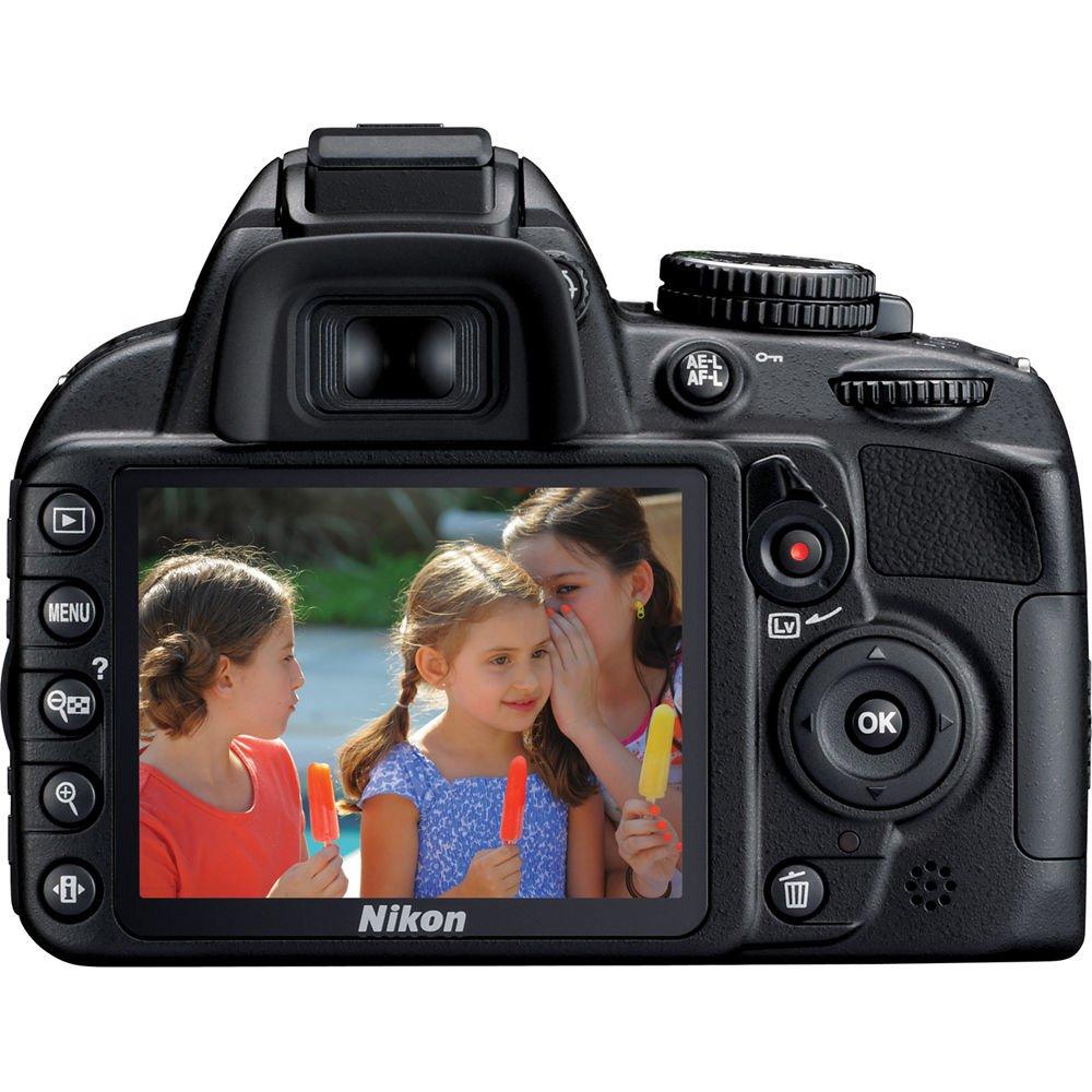 Nikon D3100 - Kit de Objetivo Digital SLR de 14,2 MP con Doble ...