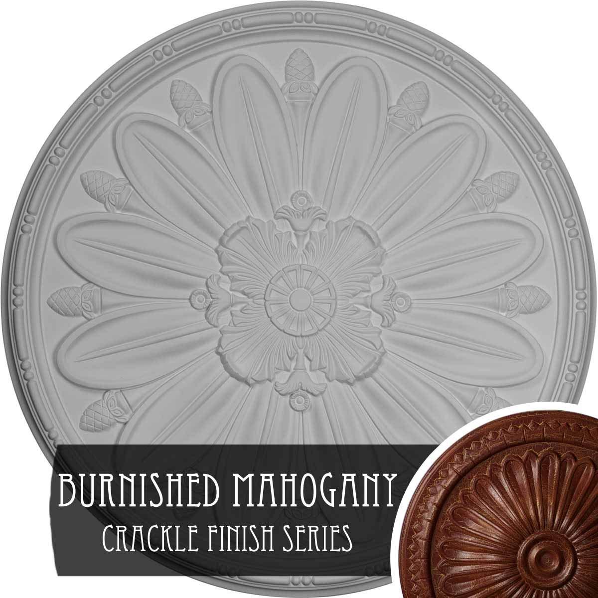 Ekena Millwork CM40DL Ceiling Medalion Primed