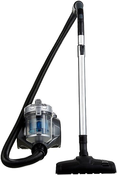 AmazonBasics - Aspiradora cilíndrica sin bolsa, 1,5L, 700 W ...